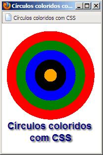 3 círculos concêntricos nas cores vermelha verde e azul.