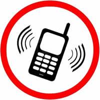 telefone móvel vibrando